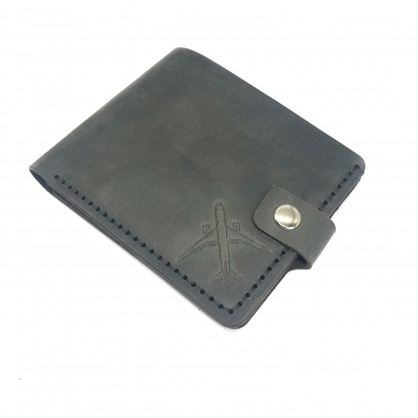 Wallet Airplane Gray