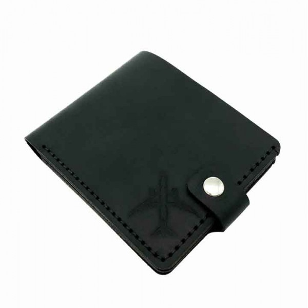 Wallet Airplane Black
