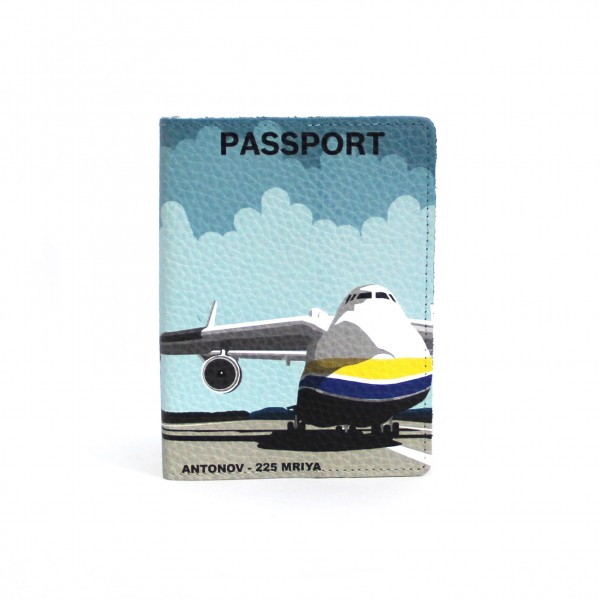 Passport Cover AN-225 Mriya