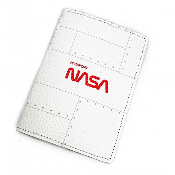 Passport Cover NASA White
