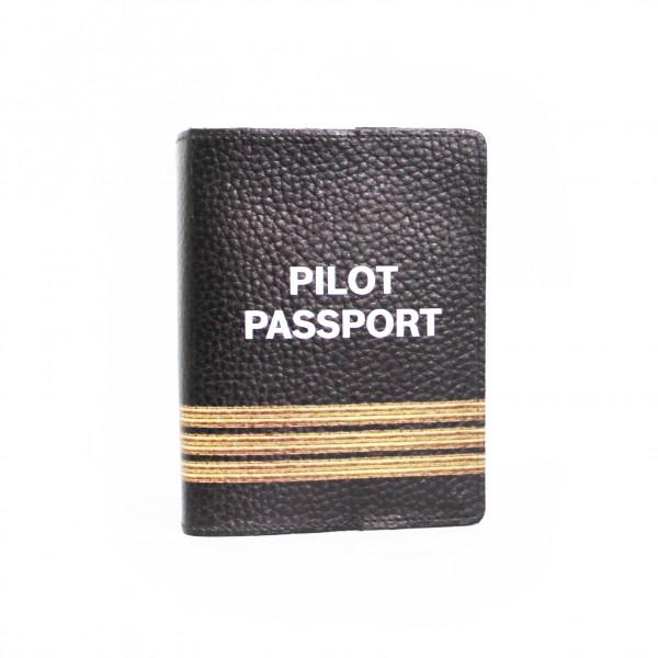 Passport Cover Pilot 3 Bars