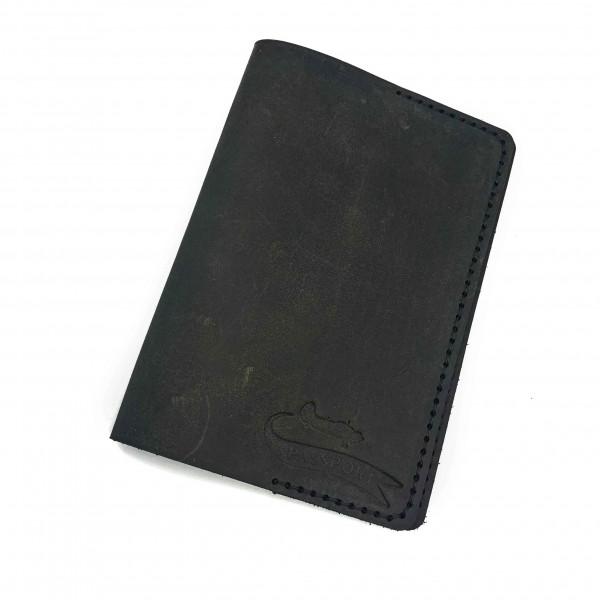 Passport Cover Gray Airplane