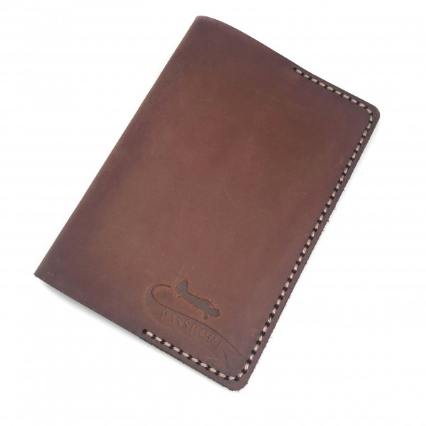 Passport Cover Chocolate Airplane