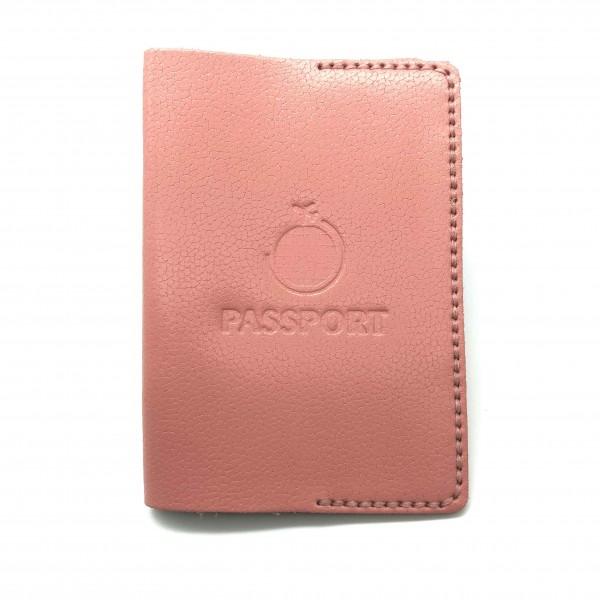 Passport Cover Pink Globe