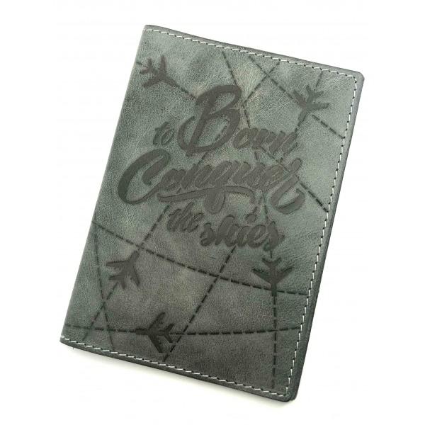 Passport Cover The Skies Gray