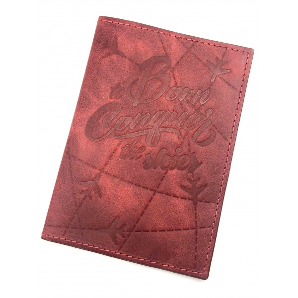 Passport Cover The Skies Red