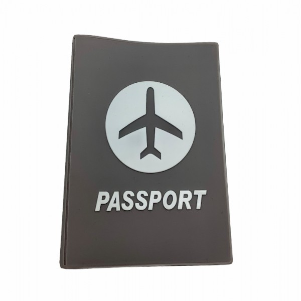 Passport cover gray