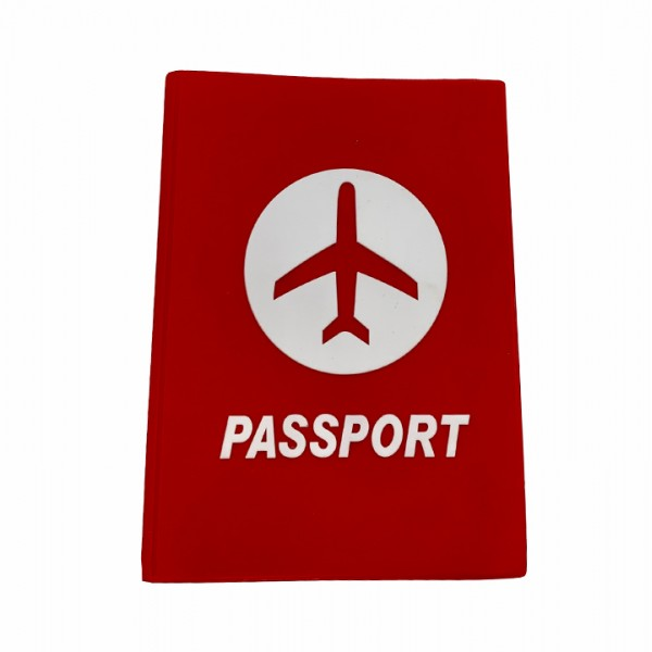 Рassport cover red