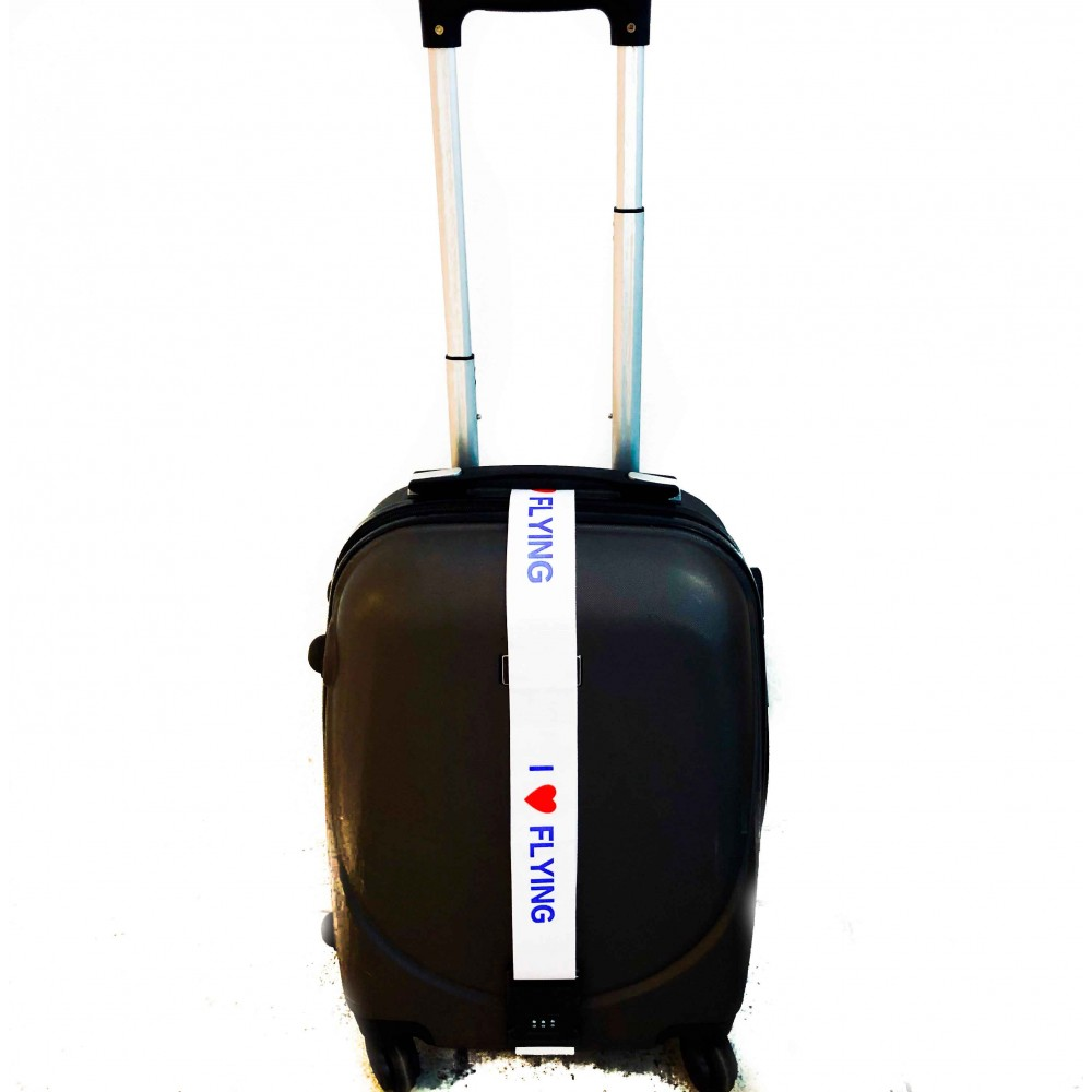 Luggage Strap I love flying