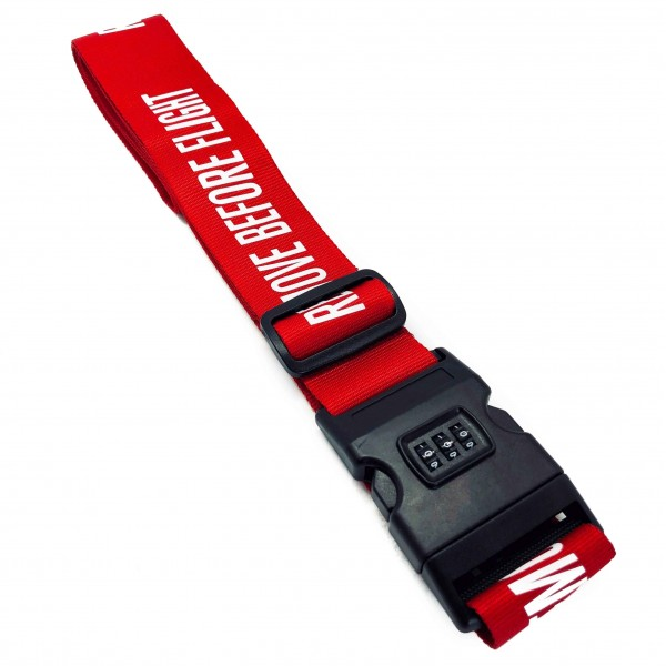 Luggage Strap Remove Before Flight