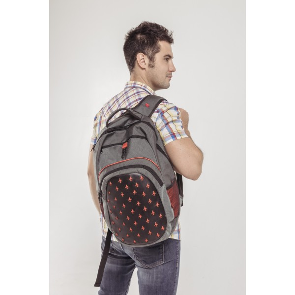 Aviation Backpack Red