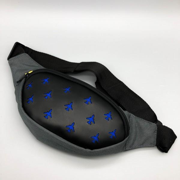 Aviation Waist Bag Blue