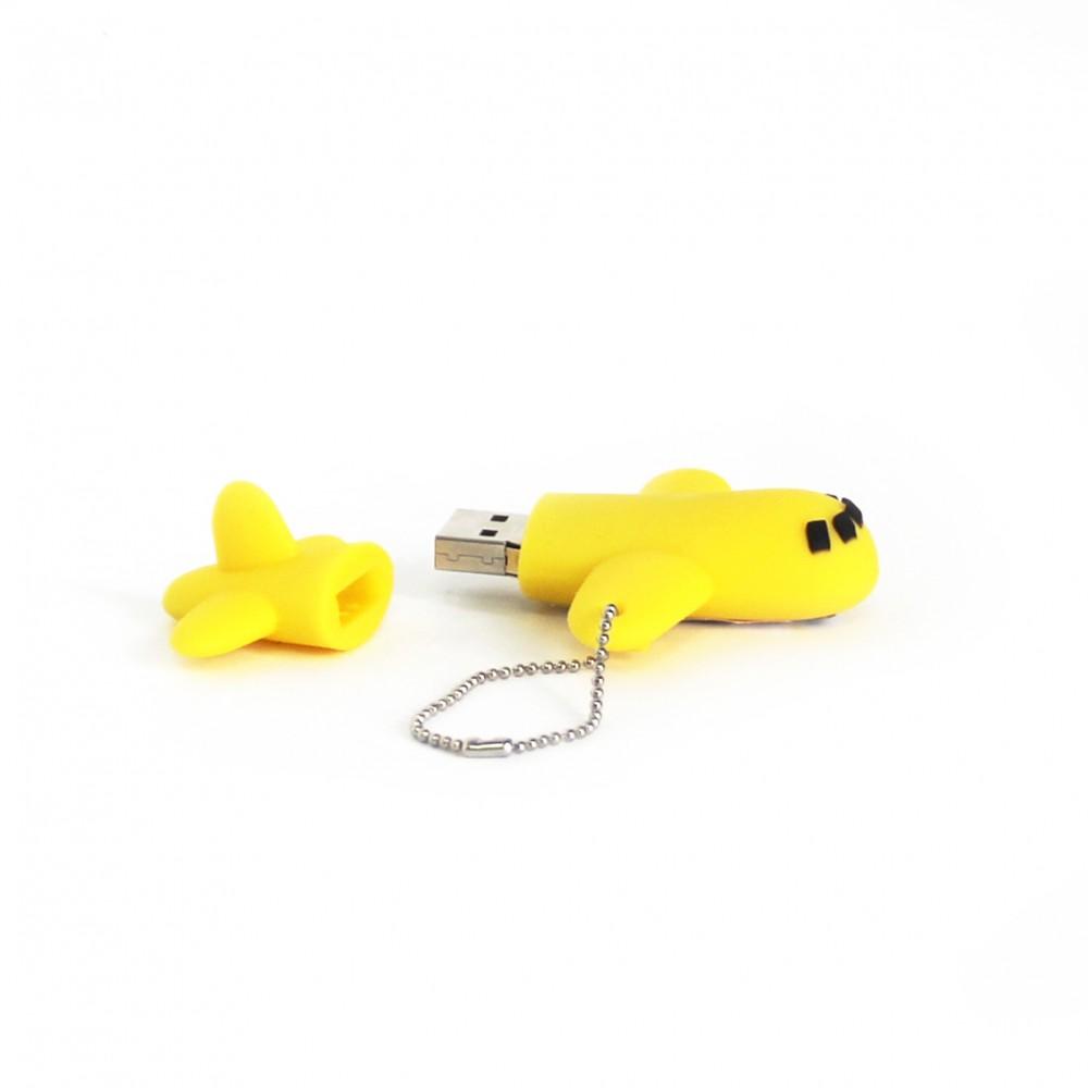 Flash Drive Yellow Plane