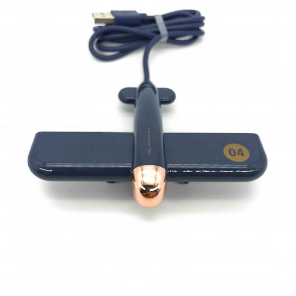USB Hub Plane Blue