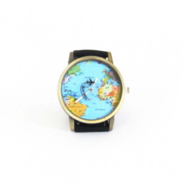 """Watch """"Time for Travel"""" Black"""