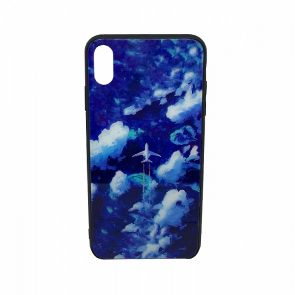 """Phone case """"Flying plane"""" for iPhone Xs Max"""