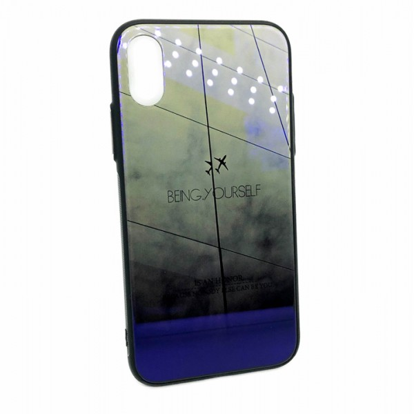 """Phone case """"Being  Yourself"""" for iPhone X/Xs"""