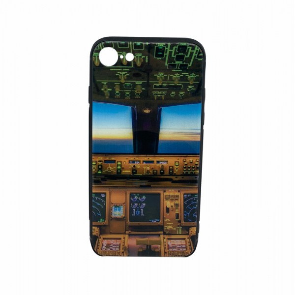 """Phone case """"Aircraft cabin"""" for iPhone 7/8"""