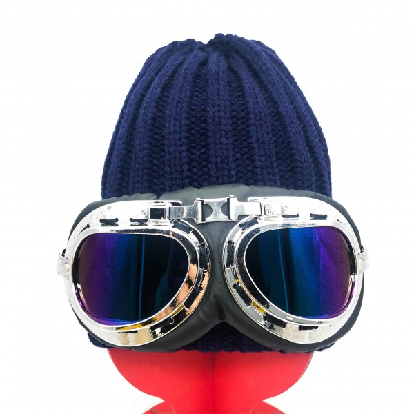 Hat Aviator Unisex Navy