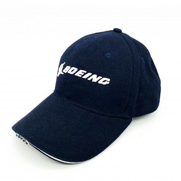 Cap Boeing With A Flashlight