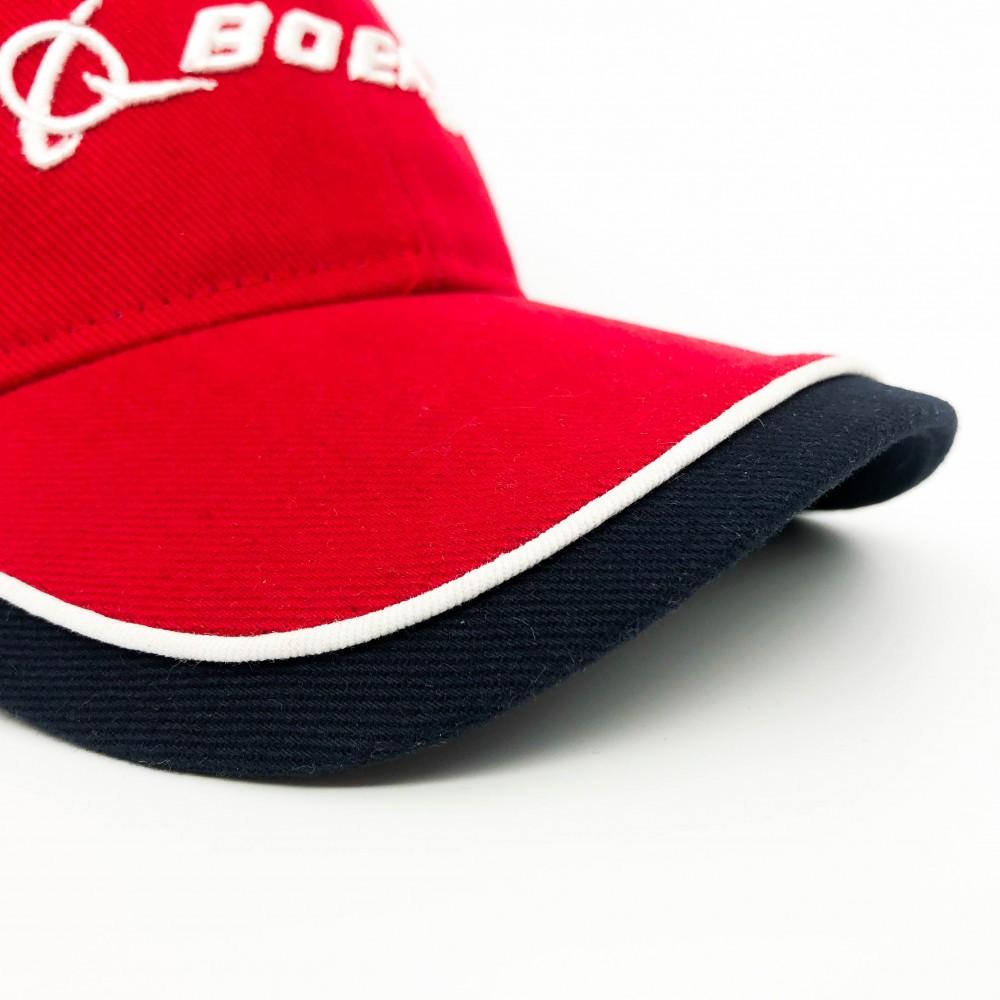 Cap Boeing Red