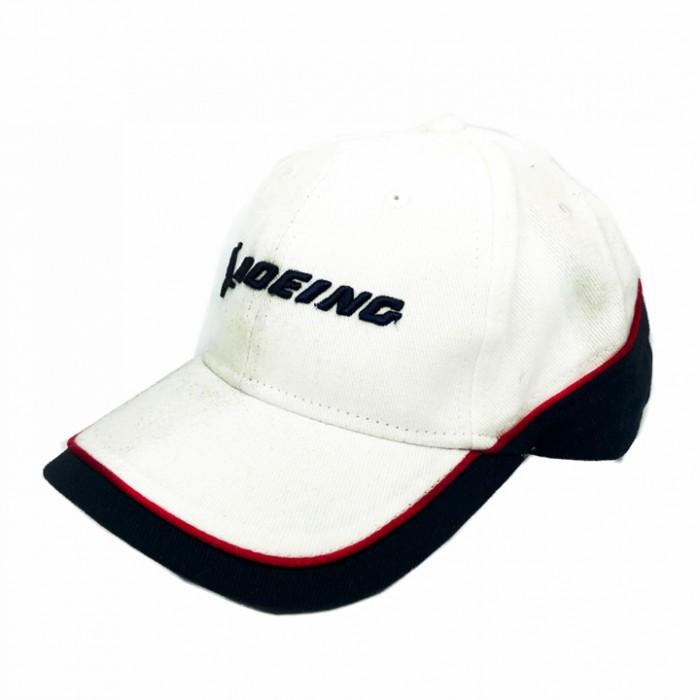 Cap Boeing White