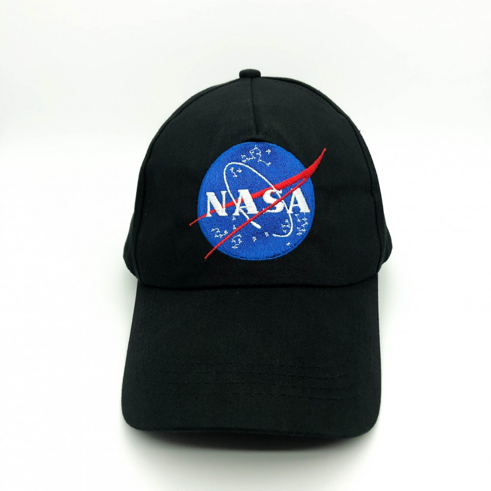 Cap NASA Black