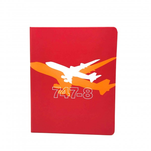 Notebook Boeing 747