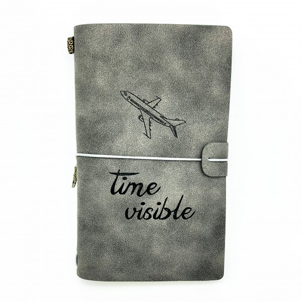 """Notebook """"Time Visible"""" Gray"""