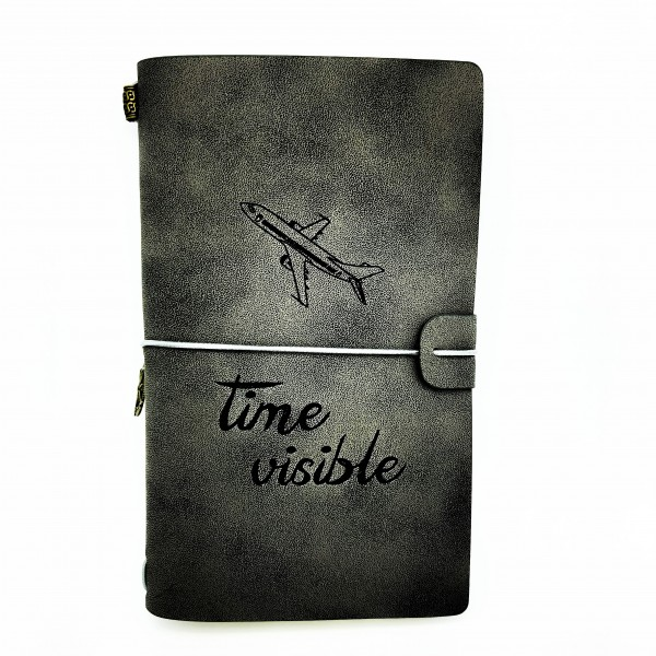 "Notebook ""Time Visible"" Black"