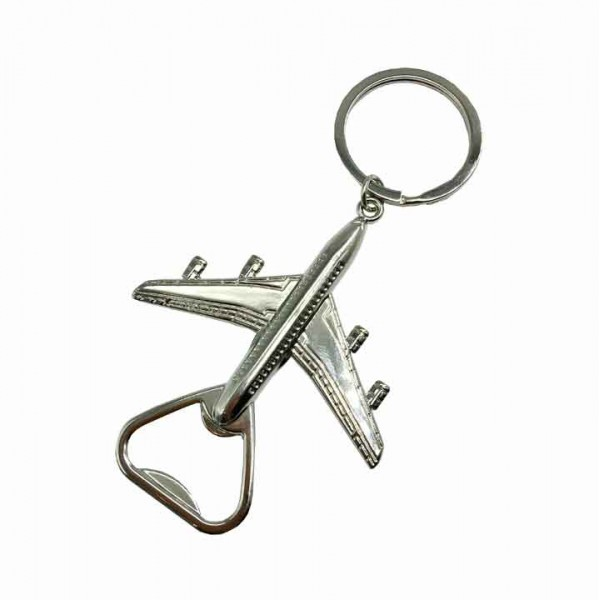 Keychain Airplane Bottle Opener