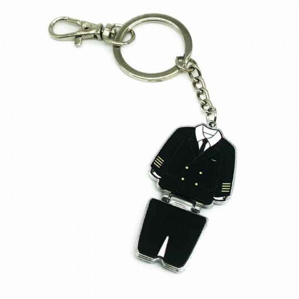 Keychain Pilot Uniform