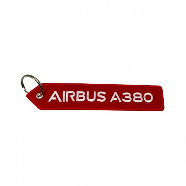 Keychain Airbus A380 pentagonal