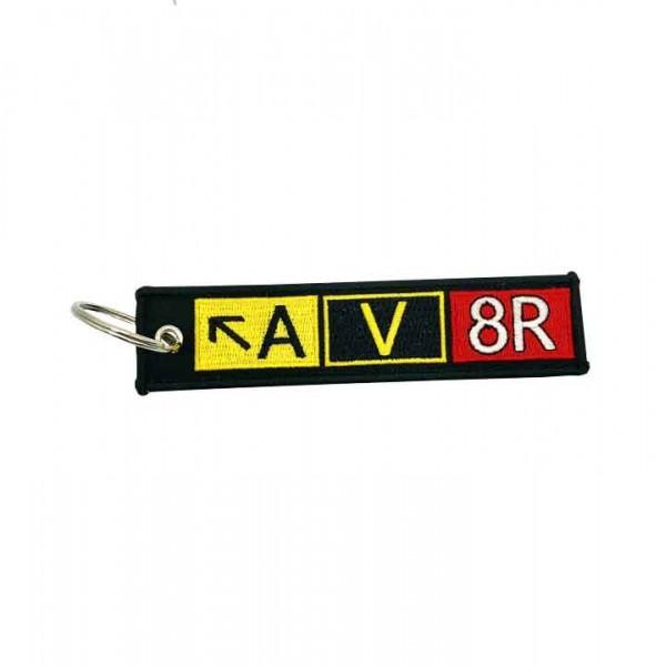 Keychain A V 8R