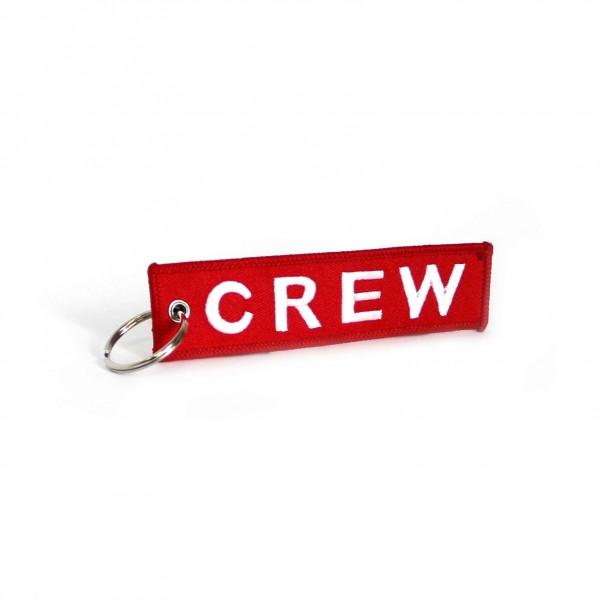 Keychain CREW Red