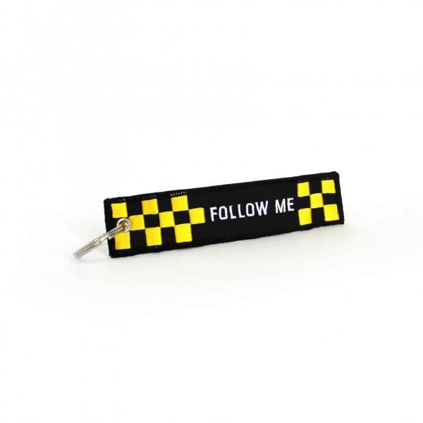 Keychain Follow Me Black