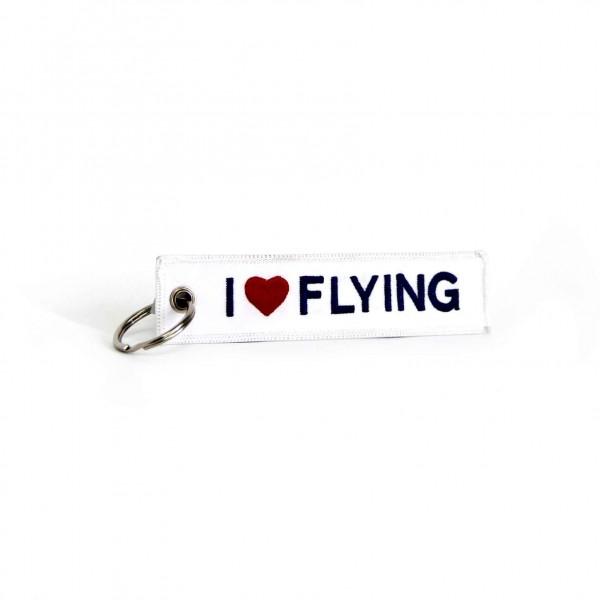 Keychain I Love Flying