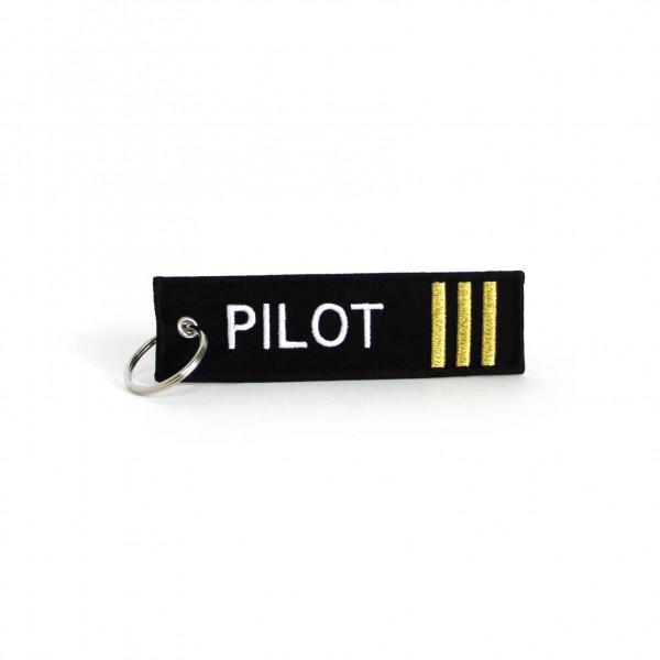 Keychain Pilot 3 Bars