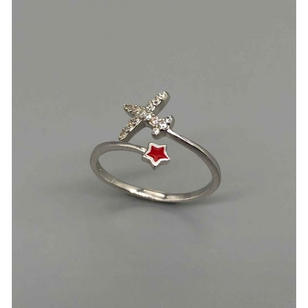 Ring Red Star