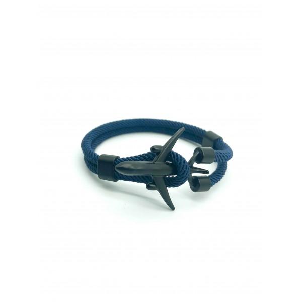 Bracelet Plane Black&Blue