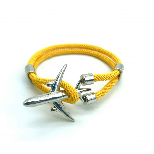 Bracelet Big Plane Yellow