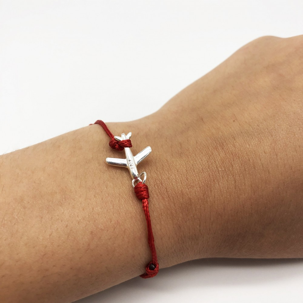 Bracelet With Silver Plane