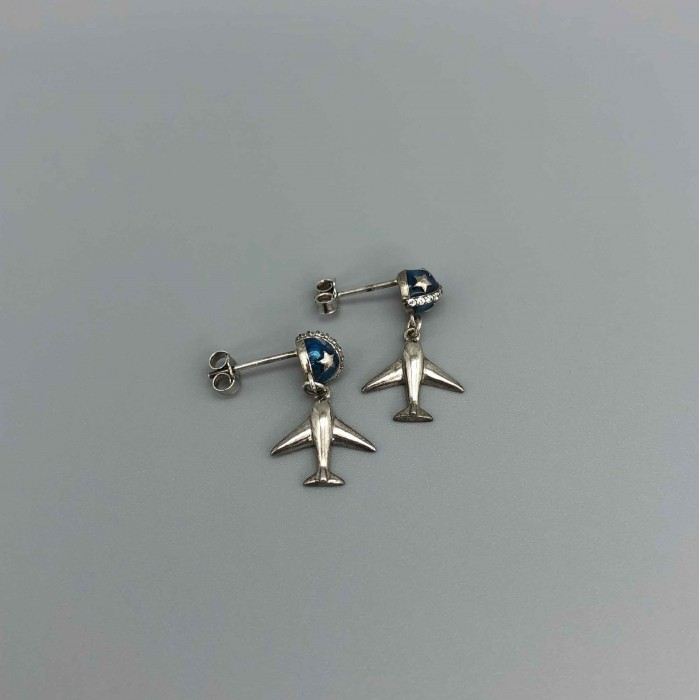 Earrings Planet&Plane
