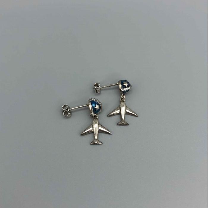 Earrings Planet&Plane