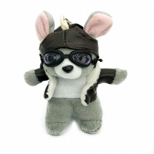 Keychain Mouse Little Pilot