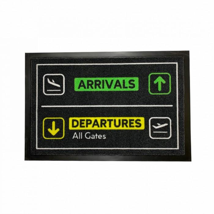 Doormat Arrival Departure