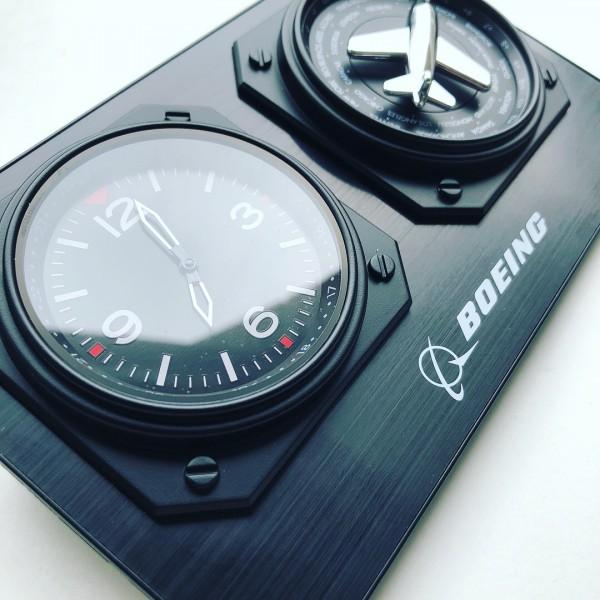 Clock Boeing World Time