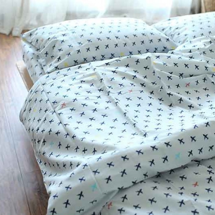 Bed Linens Airplanes