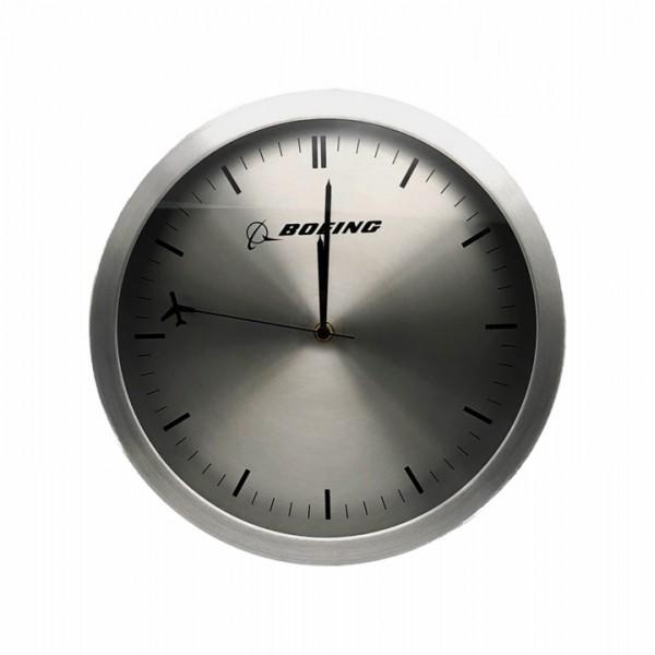 Clock Boeing Rotating Plane