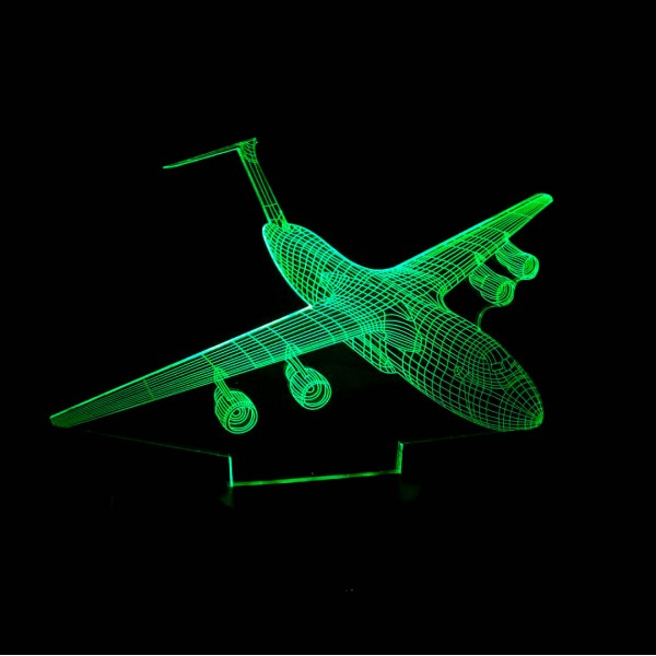 3D Nightlight Aircraft